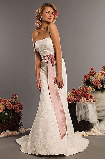 Eden Bridals 2010 wedding gown style #2332