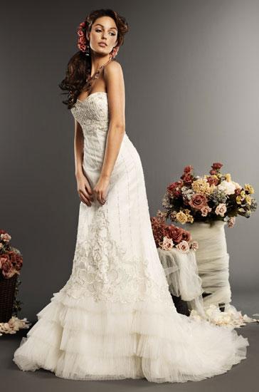 Eden Bridals 2010 wedding gown style #2343