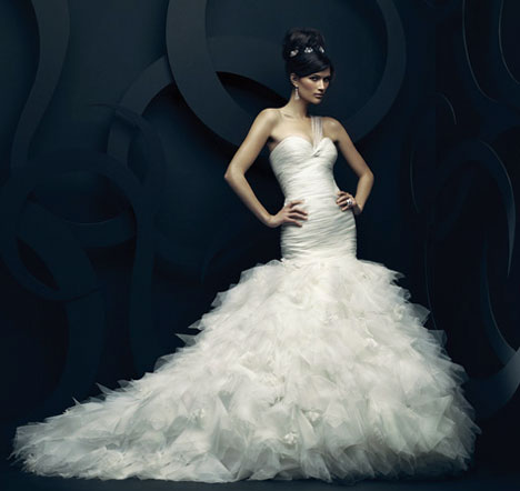 2011 Ines di Santo, Anastasie, Canadian wedding gown