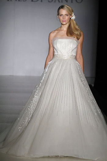 2011 Ines di Santo, Elodie, Canadian wedding gown