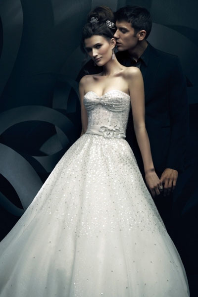 2011 Solange wedding gown by Canadian designer Ines di Santo