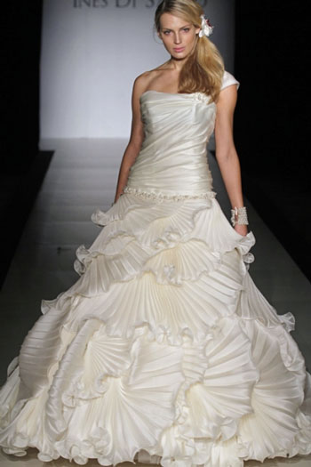 2011 Ines di Santo, Josette wedding gown