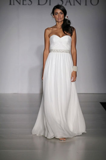 2011 Noel wedding dress by Canadian designer Ines di Santo