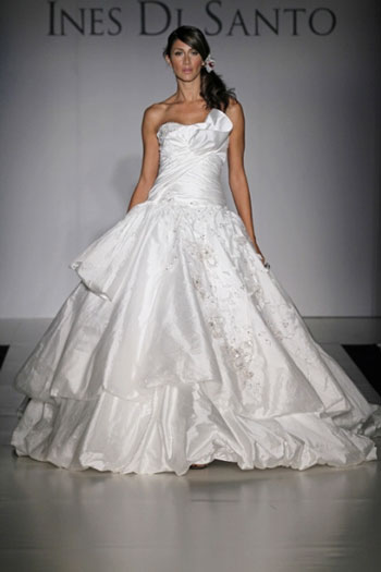 2011 Ines di Santo, Jacqueline bridal gown