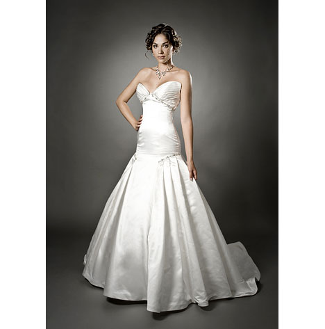 Melissa Gentille wedding dress