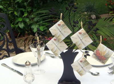 plantable seed wedding favours in Canada