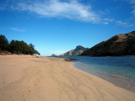 Winter Honeymoon Destination: Secluded Beach in Fiji