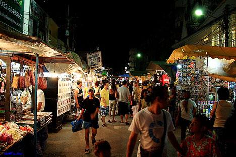 Quiet & exotic winter honeymoon: The Hua Hin market in Thailand