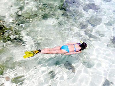 Winter Honeymoon: snorkeling in Thailand