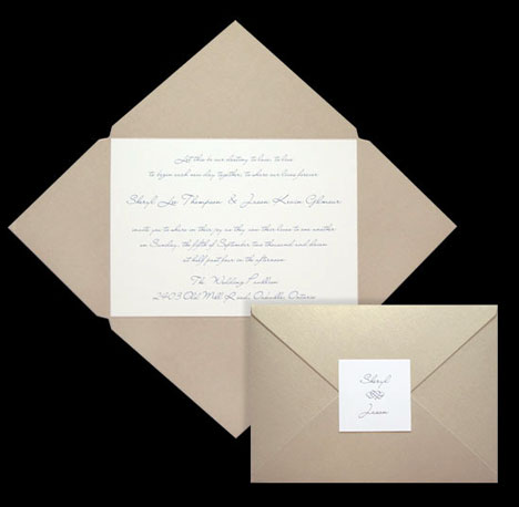 Star-shaped DIY wedding invitation folders