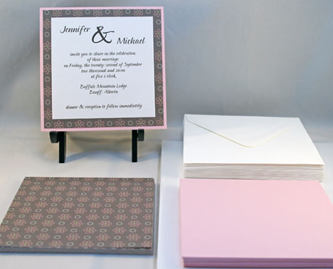 DIY Invitation Kit: Maggie