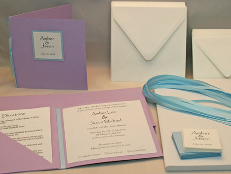 DIY Invitation Kit: Olivia