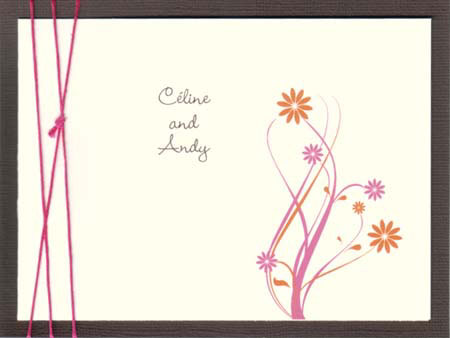 Dream2 wedding invitation by Glimz