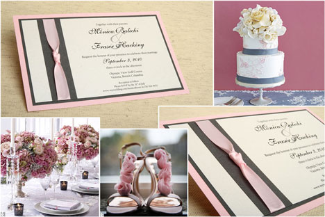 Total wedding theme coordination: Invitations, decor, fashion