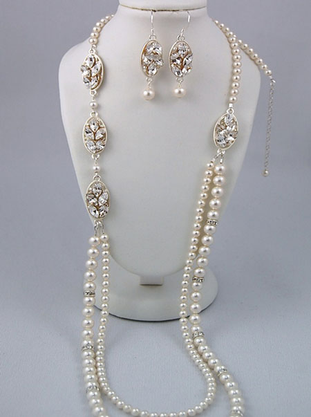 2010 bridal jewellery by Canadian designer Lara Sanichar