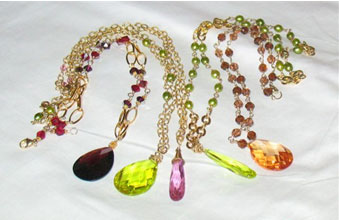 Wedding jewellery in colour!