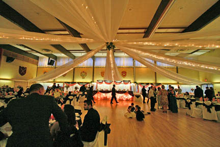 Wedding at the Caledonian Ballroom: Scottish Cultural Centre, Vancouver