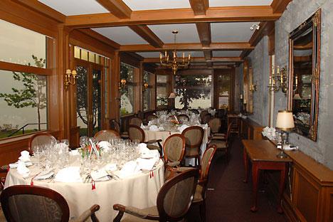 Wedding Locations in QC: Forest & Stream private club wedding reception
