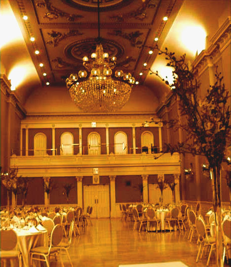 Toronto wedding reception location, St. Lawrence Hall