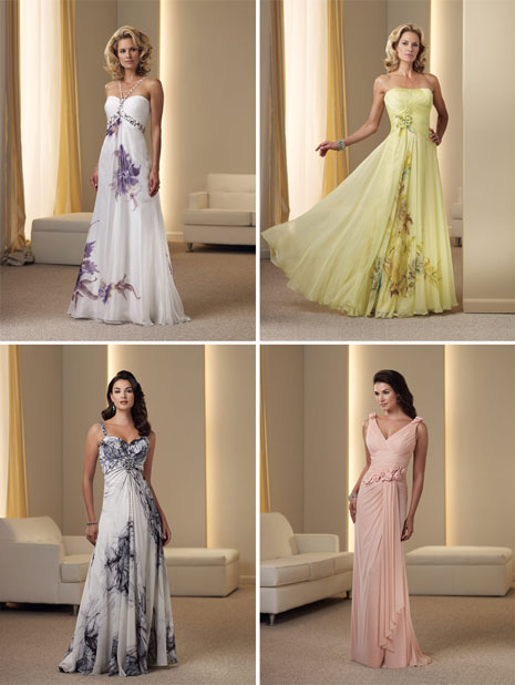 Spring 2011 mother of the bride dresses by Montage