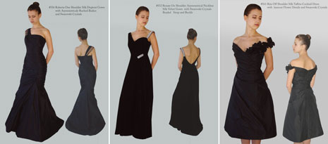 Mother of the bride eveningwear by Lillen, available at Vancouver's Bisou Bridal