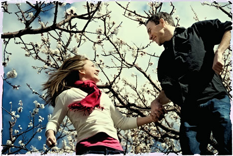 Troy and Jen's 2010 engagement photo, by Wedded Bliss Photography in Vernon, BC
