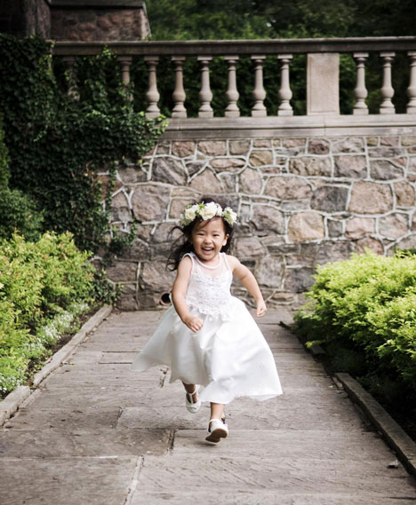 Wedding Photo of the Day: Flowergirl