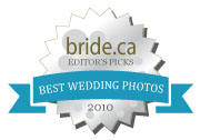 Best wedding photographs in Canada, 2010