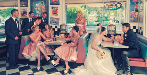 Vintage weddin gphotography by Will Pursell, Vancouver