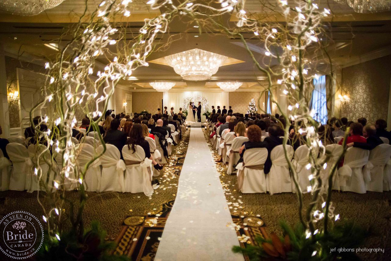 Places For Wedding Ceremony: Leah-Rose & Brendan At Sutton Place: A Real