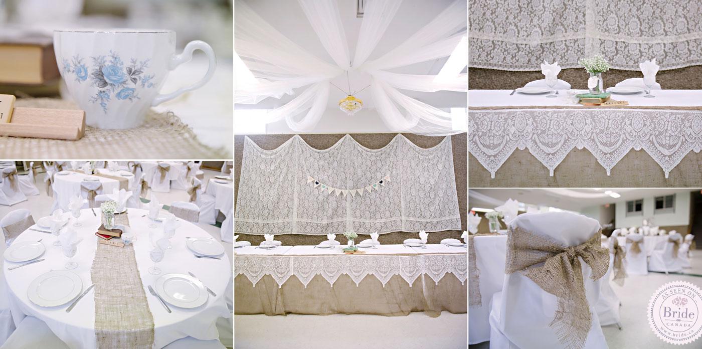 bride.ca | Real Wedding: Emilie & Jan Rustic, Backyard & Very DIY!