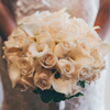A classic white bouquet designed by