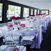 The Wedding Yacht was an intimate setting for the couple's reception.