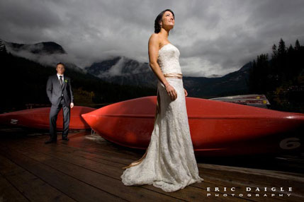 Colleen & Vince: a destination wedding in Banff