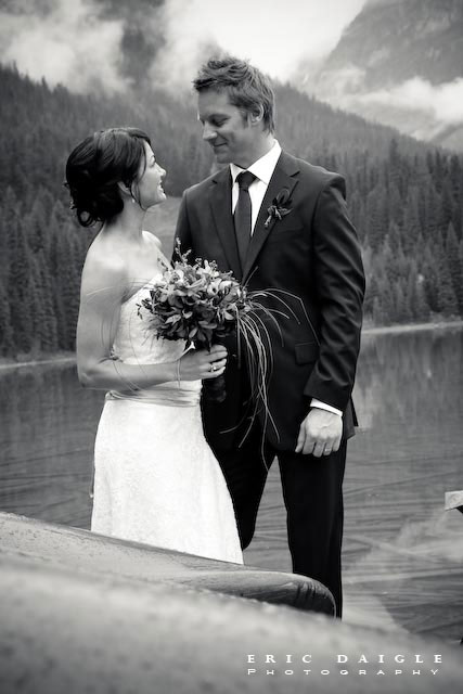 Colleen & Vince: a wedding in Banff