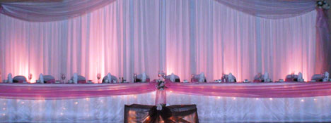 Greek wedding, head table