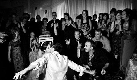 A lot of Greek dancing. Opa!
