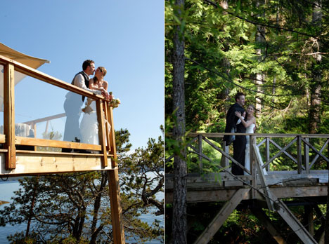 Rockwater Secret Cove resort & wedding couple