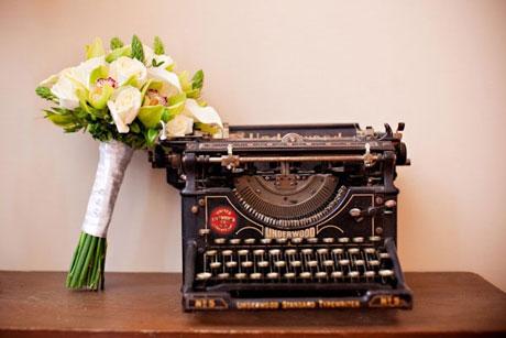 Wedding Flowers: Martine's bridal bouquet