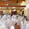 A view of the Coquitlam room, which can accommodate 180 guests.