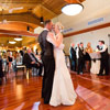 The spacious Coquitlam room offers everyone a great view of the dance floor.