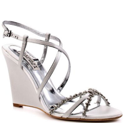 Badgley Mischka Gisele-wedge platform sandal