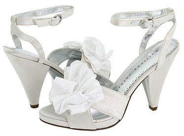 Cheap, non-traditional wedding shoes