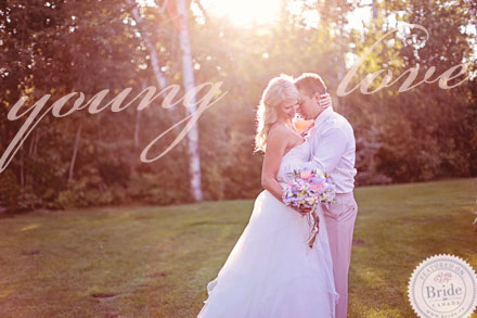 Young Love: Inspirationsal bridal photoshoot by Edmonton wedding planner Stacey Foley; as seen on Bride.Canada