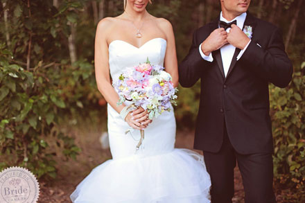 Spring themed wedding photoshoot by Edmonton wedding planner Stacey Foley; as seen on Bride.Canada