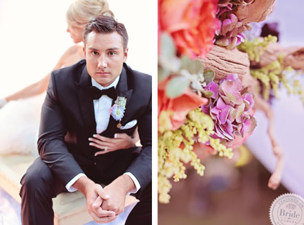 Details; Spring themed wedding photoshoot by Edmonton wedding planner Stacey Foley; as seen on Bride.Canada