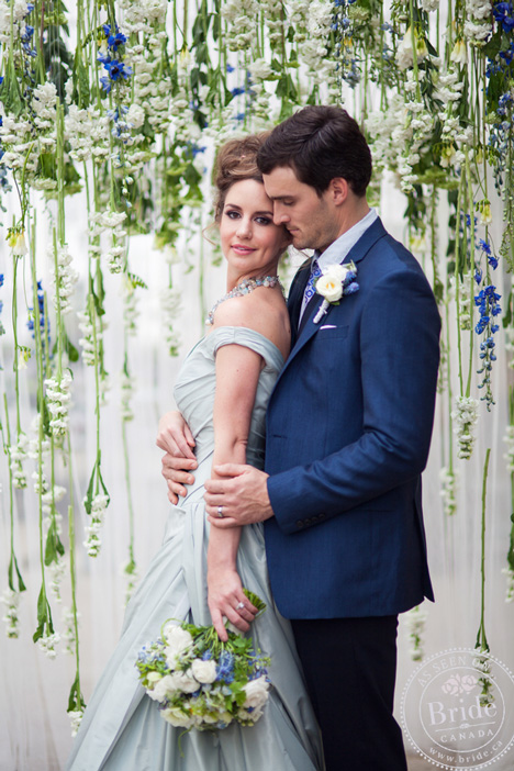 placid blue pantone color of the year wedding shoot