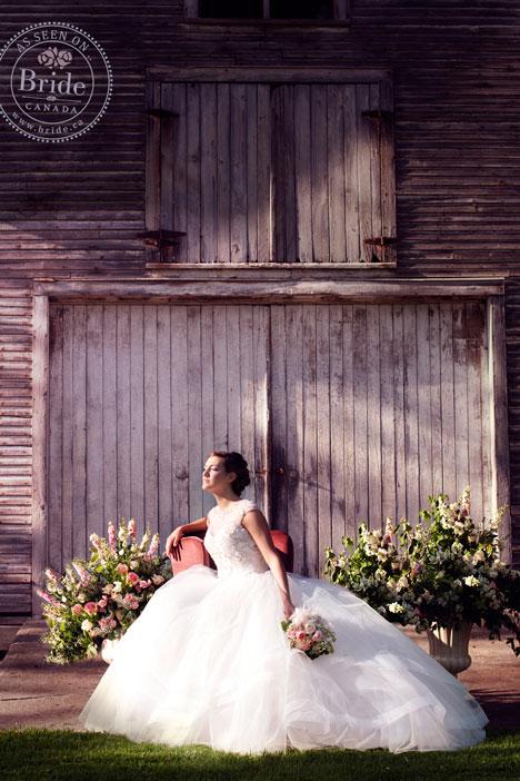 Barnyard bride
