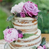 Undressed wedding cakes are a new trend that we are really loving!