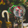 The reception was designed to envoke a nostalgia for German Christmas traditions of olde.